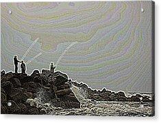 Fishing In The Twilight Zone Acrylic Print