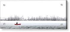 Fishing Limekiln Acrylic Print by David Patterson