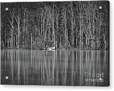 Fishing Norris Lake Acrylic Print by Douglas Stucky