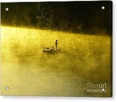 Fishing The Prettyboy Reservoir Acrylic Print