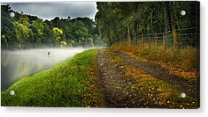Fishing The River Beauly Acrylic Print