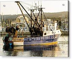 Fishing Trawler Acrylic Print