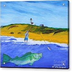 Fishing Under Highland Light Acrylic Print