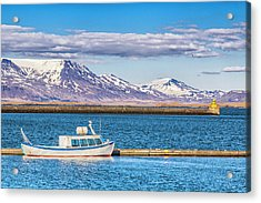 Acrylic Print featuring the photograph Fishing by Wade Courtney