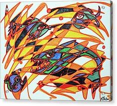 Fishopoly Acrylic Print