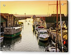 Acrylic Print featuring the photograph Fishtown by Alexey Stiop