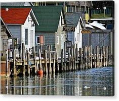 Fishtown In Leland Acrylic Print