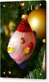Fishy Ornament Acrylic Print by Jera Sky