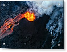 Fissure 8 Cinder Cone Acrylic Print