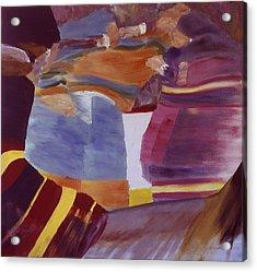 Fisticuffs Acrylic Print by Ken Yackel
