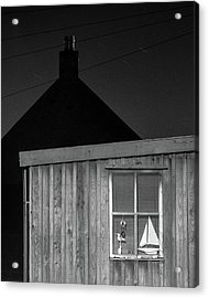 Fittie By Night Acrylic Print by Dave Bowman
