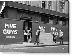Five Guys Acrylic Print