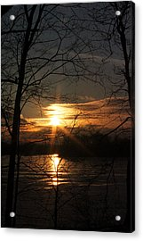 Five O Acrylic Print by Mark  France