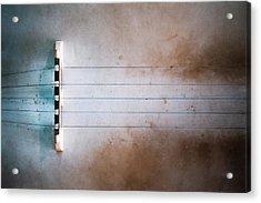 Five String Banjo Acrylic Print