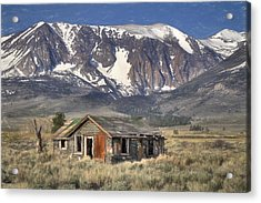 Fixer Upper With A View Acrylic Print by Donna Kennedy