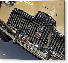 Fj Holden - Front End - Grill Acrylic Print by Kaye Menner