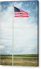 Flag At 93 Acrylic Print
