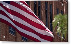 Flag Courtship Acrylic Print