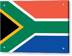 Flag Of South Africa Acrylic Print