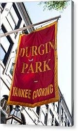 Flag Of The Historic Durgin Park Restaurant Acrylic Print