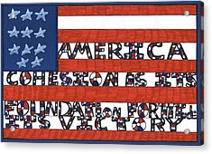 Flag Two Acrylic Print
