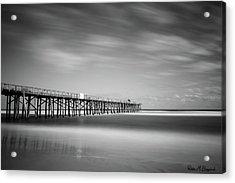 Flagler Beach Pier Acrylic Print