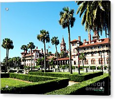 Flagler College Acrylic Print by Addison Fitzgerald
