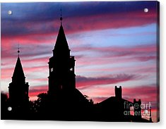 Flagler Towers Acrylic Print by Addison Fitzgerald