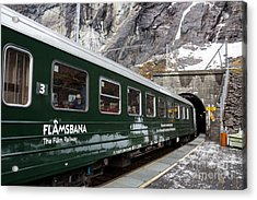 Flam Railway Acrylic Print