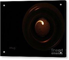 Flame Curl Acrylic Print
