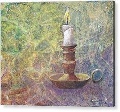 Flame Of Hope Acrylic Print by Arlissa Vaughn