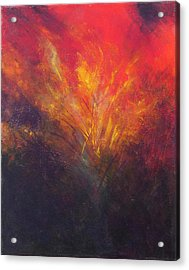 Flame Within Acrylic Print