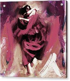 Flamenco 0321w Acrylic Print
