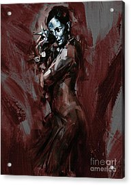 Flamenco 901 Acrylic Print