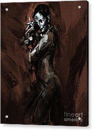 Flamenco 905 Acrylic Print