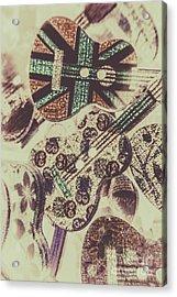 Flamenco And Folk Mix Acrylic Print
