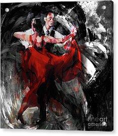 Flamenco Couple Dance  Acrylic Print