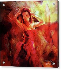 Flamenco Dance 03 Acrylic Print