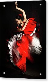 Flamenco Dancer - 01 Acrylic Print
