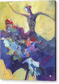 Flamenco Dancer No 5 Acrylic Print