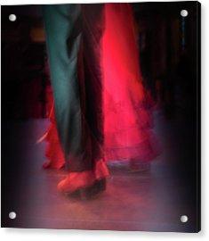 Flamenco Dancers Acrylic Print by Tetyana Kokhanets