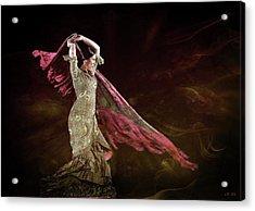Flamenco Nomada  Acrylic Print