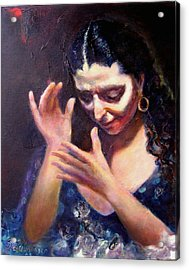 Flamenco Soul Acrylic Print