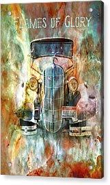 Flames Of Glory Acrylic Print
