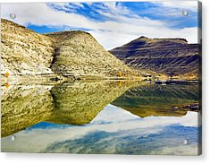Flaming Gorge Water Reflections Acrylic Print