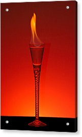 Flaming Hot Acrylic Print by Gert Lavsen