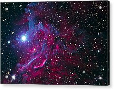 Flaming Star Nebula Acrylic Print