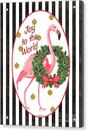 Flamingo Amore 2 Acrylic Print