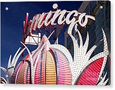 Flamingo Colors Las Vegas Acrylic Print by John Rizzuto