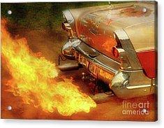 Flam'n Acrylic Print